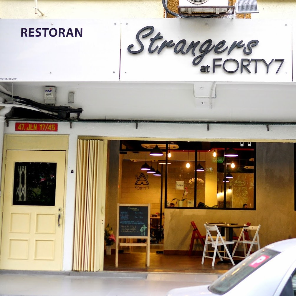 Strangers at 47 Cafe