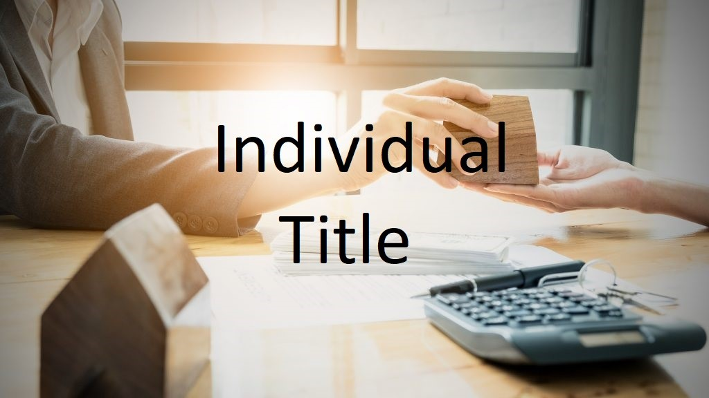 What's an Individual Title