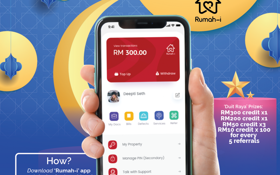 2021 Apr Earn 'Duit Raya' from Rumah-i Campaign (1 April – 30 April 2021)
