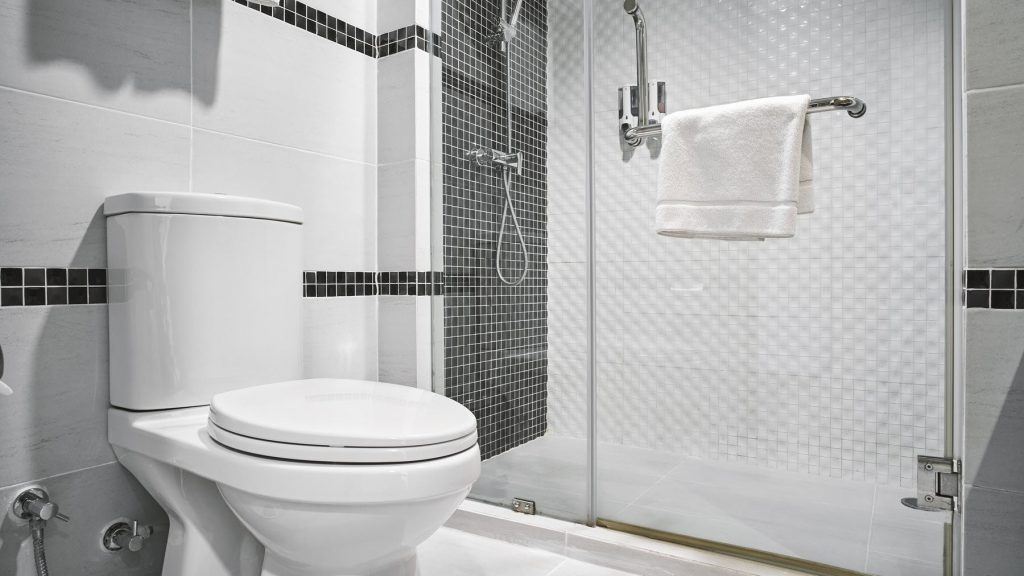 Partially Furnished Bathroom
