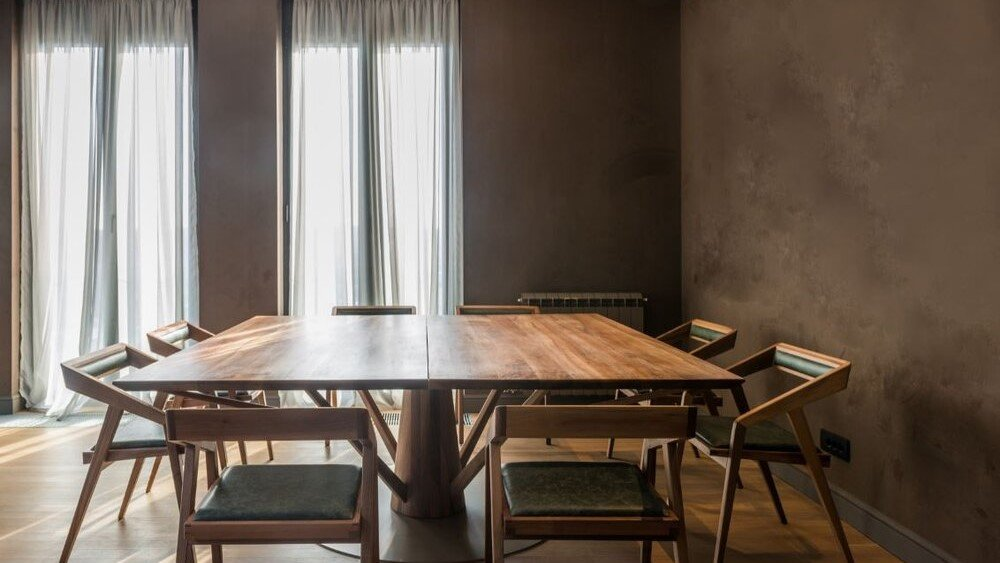 partially furnished Dining Room